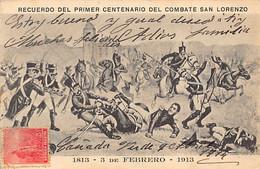 ARGENTINA - Recuerdo Del Primer Centenario Del Combate San Lorenzo - 3 De Febrero 1813 - Ed. Desconocido - Argentina