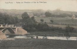 Trois-Ponts, Vallee De L'Amblève Et Vue Du Petit-Spay, , Coloré, 2 Scans - Trois-Ponts