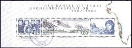 DENEMARKEN 2003 Blok Groenland Expeditie GB-USED - Gebraucht