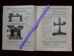 Catalogue H. RUMPF Exposition Automobile Cycle Sports 1907 Machines Spéciales Tour Perceuse Fours à Cémenter - 1900 – 1949
