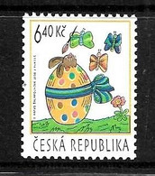 REPUBLIQUE TCHEQUE 2003 PAQUES-PAPILLONS YVERT N°325 NEUF MNH** - Schmetterlinge