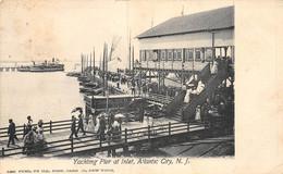 21-2517 : YACHING PIER AT INLET. ATLANTIC CITY - Atlantic City