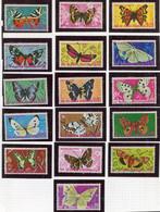 (CL 37 - P. 3) Guinée équatoriale ** Lot De16 Tbres - Papillons - Butterflies