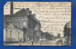 SERAIN   Usine Graf Et Cie  Animées      écrite En 1905 - Seraing