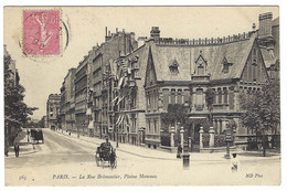 PARIS XVIIème (75) - La Rue Brémontier, Plaine Monceau - Ed. ND. Phot. - Arrondissement: 17