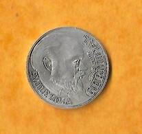 PIECE 100 FRANCS ARGENT EMILE ZOLA GERMINAL  1985 - N. 100 Francs
