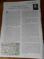 Article   Celestin Adolphe Pegoud Montferrat 38 Inventeur Voltige Aérienne  Abattu 31 8 1915 Cimetiere Montparnasse - Luchtvaart