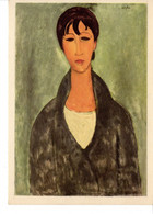 CP Arts Peintures & Tableaux Modigliani Buste De Jeune Femme Young Woman - Pintura & Cuadros