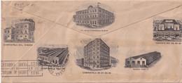 CUBA 1936 ENVELOPPE ILLUSTRE DE LA HAVANE TIMBRE PERFORE/PERFIN - Brieven En Documenten