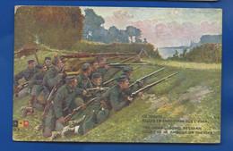 Soldats  Belge  En Embuscade - War 1914-18