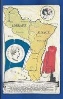 Carte LORRAINE-ALSACE - Other Wars