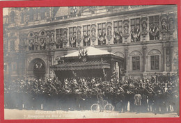 Visite Du Roi Edouard VII à Paris 1903 (King Edward VII) Réception Du Roi à L'Hôtel De Ville - Royal Families
