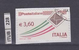 ITALIA REPUBBLICA     2013Posta Italiane 3,60 Usato - 2011-...: Oblitérés