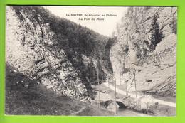 De GLOVELIER Au Pichoux, Au Pont Du Mont. TBE. Peu Courant. 2 Scans. Edition A & H.C. - JU Jura