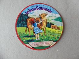 Fromage Le Bon Souvenir Fabriqué Dans Le Doubs Fromagerie Rietmann Frères 180g - Kaas