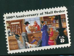 USA Scott # 1468   1972 Mail Order Centenary 8c    Mint NH /MNH - Nuevos