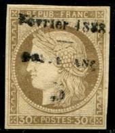 Lot N°A383 Colonies Guyane N°8 Neuf (*) Sans Gomme - Unused Stamps