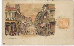 AFRIQUE. PORT SAID.   AN 1906. - Port Said