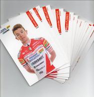 CYCLISME  TOUR DE FRANCE  SERIE OFFICIELLE ANDRONI GIACATTOLI 2020 - Cycling