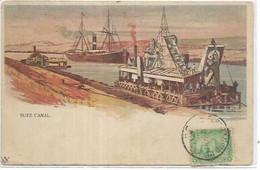 AFRIQUE. EGYPTE. SUEZ CANAL - Suez