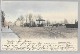 Soignies : Square De La Gare, Nels Couleur - Soignies
