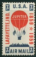USA Scott # C54    1959 Balloon 7c   Airmail -  Mint Never Hinged (MNH) - 2b. 1941-1960 Nuevos