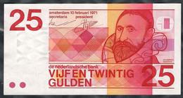 Netherlands - 25 Gulden 1971 - Pick 92a - 25 Gulden