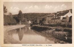 21 Côte-d'Or - GISSEY SUR OUCHE - Le Canal De Bourgogne - Sonstige Gemeinden