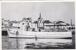 85 LES SABLES D OLONNE Bateau Garnier 1955 - Sables D'Olonne