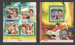 ST899 2016 GUINE GUINEA-BISSAU SPORTS TENNIS 1KB+1BL MNH - Tennis