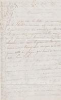 1844 AUJAC (17) Lettre à M. De CHIEVRES Officier Supérieur Au Château (79) MORINET De La PLANCHE CHAGNON - Documentos Históricos