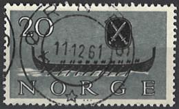 Norwegen Norway 1960. Mi.Nr. 444, Used O - Gebraucht