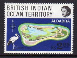 British Indian Ocean Territory BIOT 1969 Coral Atolls, MNH, SG 31 (A) - Brits Indische Oceaanterritorium