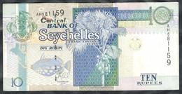 Seychelles - 10 Rupees 2013 - Pick 42 - Seychelles