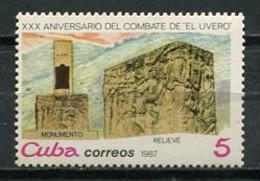 Cuba 1987 / Combat El Uvero MNH Combate Kampf / Cu8611  C3-11 - Neufs