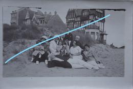 Photo SINT IDESBALD Bij De Panne Veurne Vers 1920-5 Oude Huis - Orte