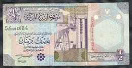 Libya - 1/2 Dinar 2002 - P63 - Libye