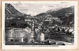 X05031 ⭐ BRIANCON 1321m Pris Pont GUISANNE 1930s  à DE GRIVEL  GINESTOUX Nimes Morez- Veuve FRANCOU 2 - Briancon