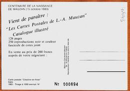 X05059 ⭐ GAP (05) Alpes Centenaire Naissance Achille MAUZAN 15 Octobre 1883 - Mode Citadine En Hiver Italie Cppub N° 894 - Gap