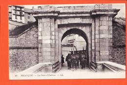 X05072 ⭐ Etat Parfait BRIANCON 05-Hautes Alpes La Porte D' EMBRUN Entrée Retour Militaires 1910s LEVY 21 - Briancon