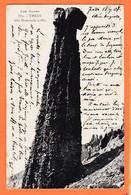 X05106 ⭐ THEUS 05-Hautes Alpes Demoiselle Coiffée 1907 à Augusta BEL Institutrice Lempaut Tarn Cliché VOLLAIRE FOURNIER - Andere Gemeenten
