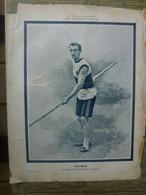 Saut à La Perche Gonder Recordman Du Monde Du Sport Athlétisme - 1900 - 1949