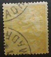 ESPANA ESPAGNE SPAIN 1874, Regence ,  Yvert No 147 , 50 C  JAUNE ORANGE,  Belle Nuance    Obl ,bon Centrage  TTB - Oblitérés