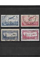 1316 LOT  De 4 Timbres Postes Aériennes YT 5-6-9-11 Oblitérés - 1927-1959 Nuevos