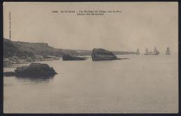 CPA - (56) Ile De Groix - Les Rochers Du Gripp, Vus Du Port - Départ Des Thonniers - Groix