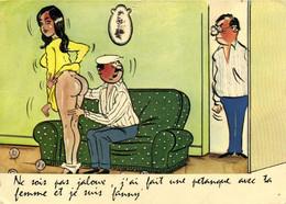 Humour Sexy Les Boulistes Ne Sois Pas Jaloux ,j'ai Fait Une Pétanque Avec Ta Femme Et Je Suis Fanny RV - Andere