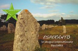 D 56 - CARNAC - Les Mégalites - Ed. ESPERANTO Vannes - La Megalitoj De Kernako - Carnac