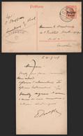 Belgique 1918 - Entier Postal Lembeek Vers Louvain - Censure - Duitse Bezetting