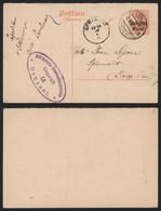 Belgique 1917 - Entier Postal Réponse Lembeek Vers Sprimont - Censure - Duitse Bezetting