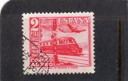 Espagne:  : Année  1948 PA N°238   Oblitéré - Oblitérés